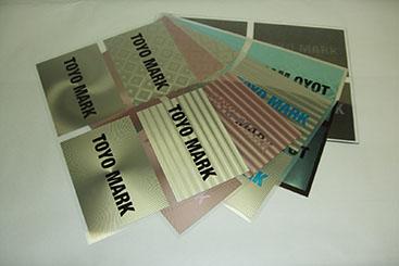 ホログラム調印刷