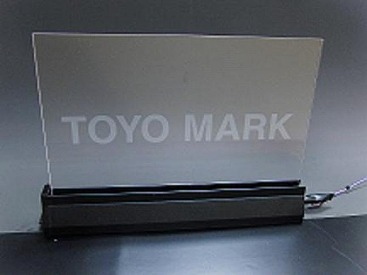 LED発光印刷 (LEDランプ発光前)