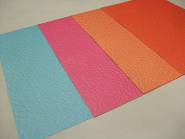UVダイレクトプリントサンプル 革調印刷